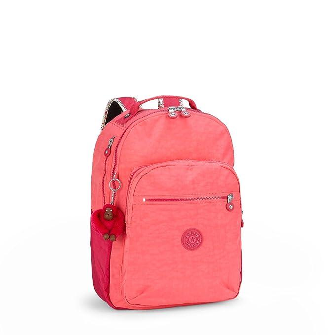 Kipling Mochila de a Diario, Begonia Pink C (Rosa) - K1501501B: Amazon.es: Equipaje