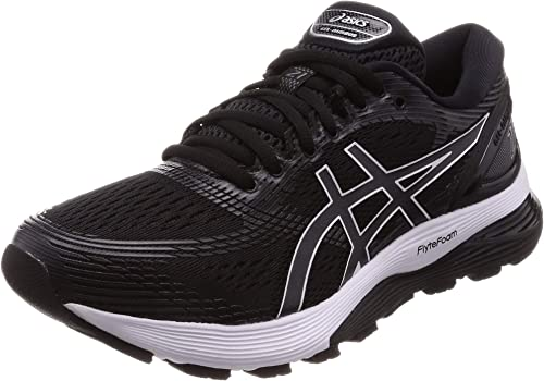 Asics Gel-Nimbus 21, Zapatillas de Entrenamiento Hombre, Multicolor (Black/Dark Grey 001), 41.5 EU: Amazon.es: Zapatos y complementos