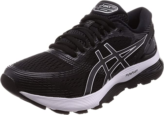 Asics Gel-Nimbus 21, Zapatillas de Entrenamiento para Hombre, Multicolor (Black/Dark Grey 001), 41.5 EU: Amazon.es: Zapatos y complementos