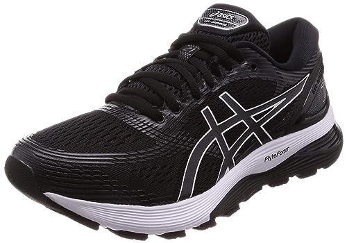 asics negro zapatos