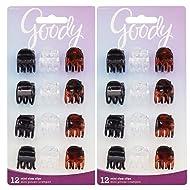Goody Claw Clip, Mini, 24 Count