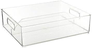 Interdesign 6 Pack Fridge And Freeze Binz Deep Split Bin 12 By 4 Inch Amazon In Home Kitchen