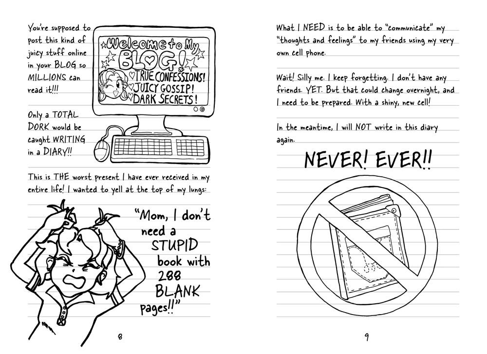 Dork Diaries 1: Tales from a Not-So-Fabulous Life by Aladdin Paperbacks (Image #3)