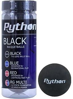 Ektelon Classic Black Racquetballs 3 Ball Single Can Authentic New