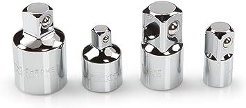 4-Piece 1//4, 3//8, 1//2 in. TEKTON Impact Adapter//Reducer Set | SIA99025
