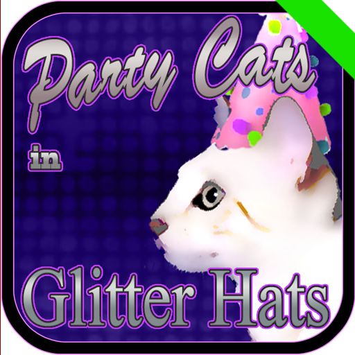 Party Cats in Glitter Hats -
