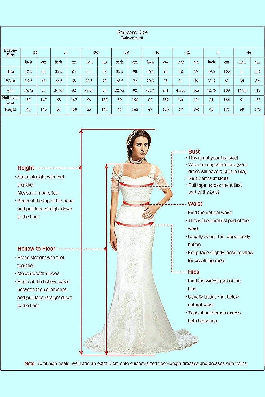 Babyonline/® Damen Etui Lang Meerjungfrau Off Shoulder Abendkleider Ballkleid Kleider