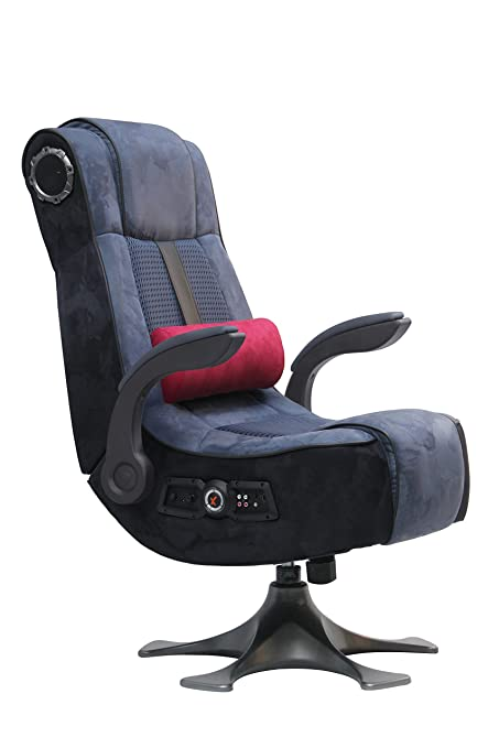 Stupendous X Rocker Pro 2 1 Wireless 4 Speaker Pedestal Video Gaming Chair Pedestal Base High Tech Audio Tilt Swivel Design Microfiber Mesh Lumbar Inzonedesignstudio Interior Chair Design Inzonedesignstudiocom