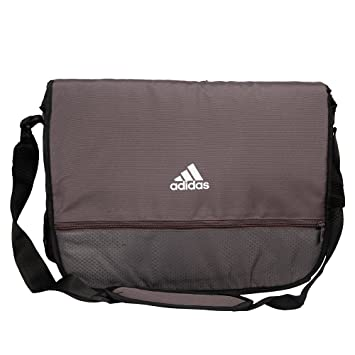 5910d5ec81 Buy adidas AA8473NS I Perforated Polyester Messenger Bag (Granite) Online  at Low Prices in India - Amazon.in