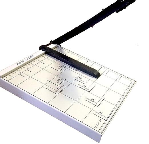 7 opinioni per DOBO® Taglierina a leva taglia carta cutter professionale fogli con formato