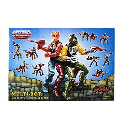 Masters of the Universe Classics Multi-Bot Exclusive Action Figure: Toys & Games [5Bkhe0204633]
