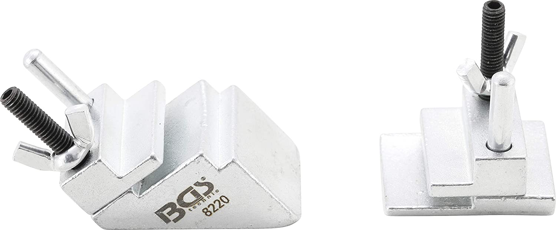 2 pi/èces BGS 8220 Jeu d/'outils pour montage de courroie en V