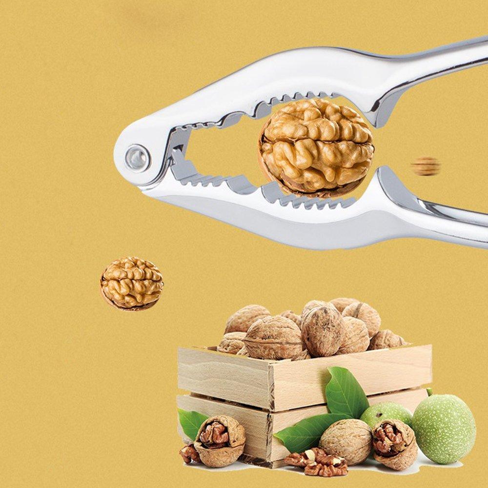 Fani Nut Crackers Walnut Cracker Heavy Duty Shell Cracker Seafood Cracker Walnut Opener Tool with Non-slip Handle Henan Pasi E-commerce Co Ltd