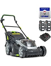Murray 883266 Lithium-Ion 44cm Lawn Mower IQ18WM44, Including 2X 5Ah Battery and Dual Charger, 5 Years Warranty