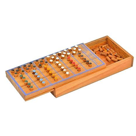 Amazon Handmade Wooden Mastermind Game Everything Else Extraordinary Wooden Mastermind Game