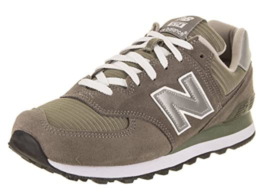 buy popular 9325a 3cccf New Balance Mens M574gs Low-Top Lace-Up Trainers Grey Size 44
