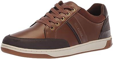 Tommy Hilfiger Mens SPARKS Shoe, cognac, 9 Medium US