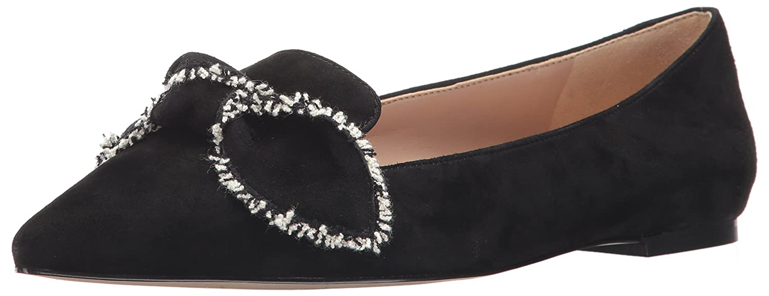 Black Suede Sam Edelman Womens Rochester Loafer Flats