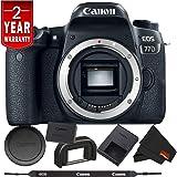 Canon EOS 77D DSLR Digital Camera (Body Only) International Model Bundle