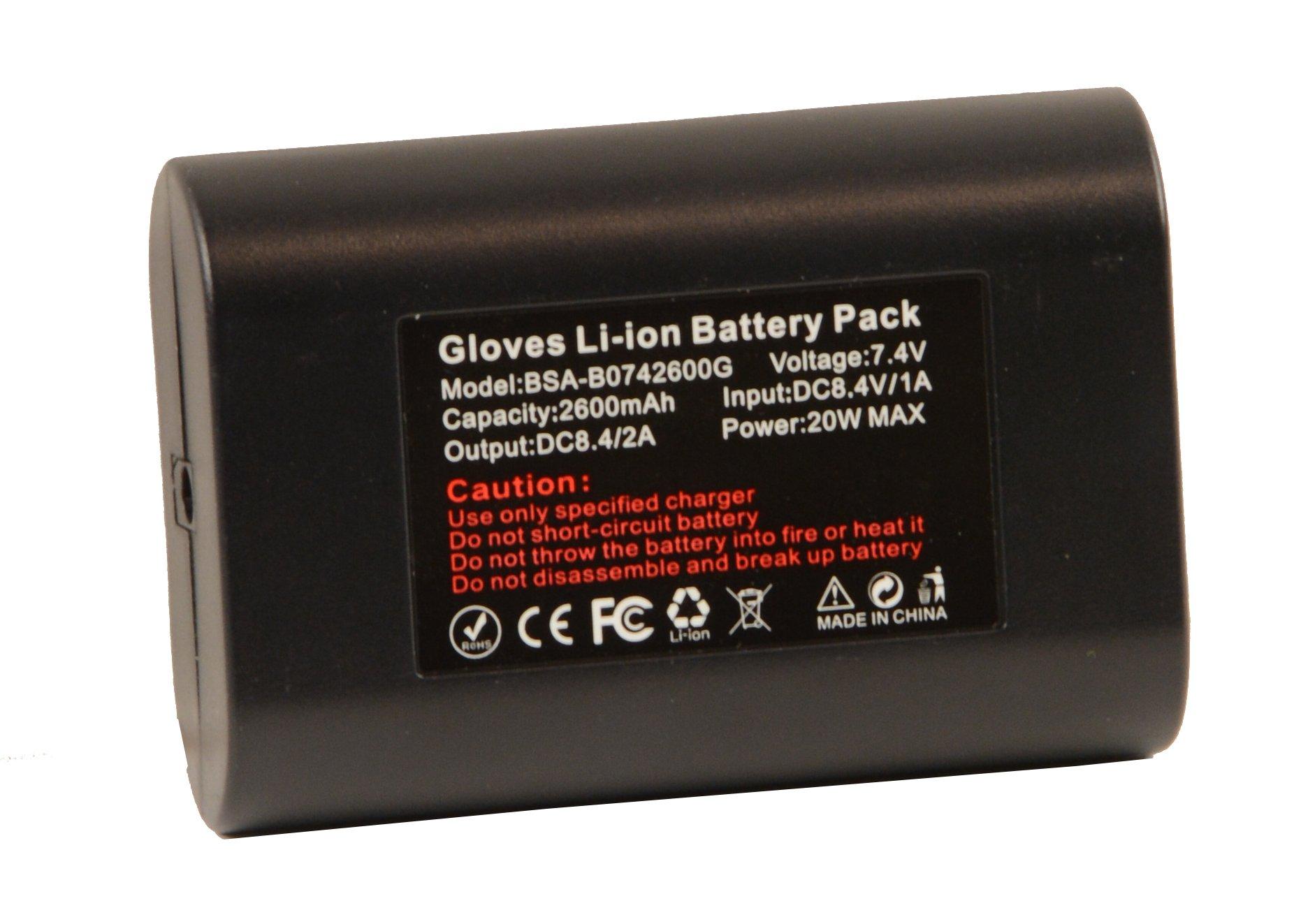 Milwaukee Leather BATTERYGLOVE Universal Twin Battery Pack (for Gloves) by Milwaukee Leather (Image #3)
