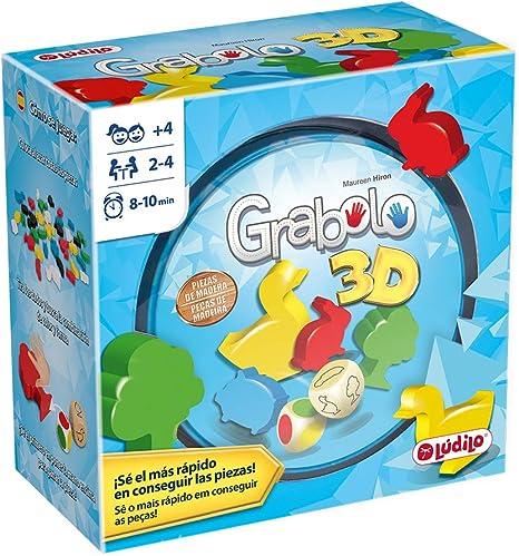 Lúdilo- Grabolo Educativo para Jugar en Familia, Mesa para niños ...