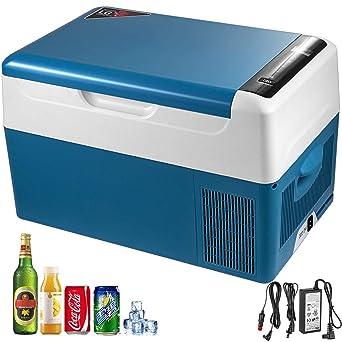 Machabeau - Mini frigorífico de coche portátil de 22 l, nevera ...