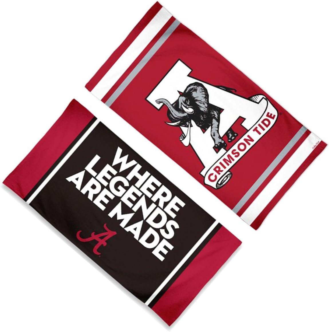 WinCraft Alabama Crimson Tide Retro Towel with Premium Spectra Graphics 30x60 inches