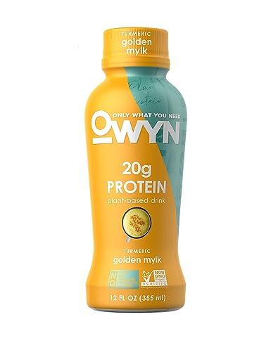OWYN, Vegan Protein Shake,12 Fl Oz, 100-Percent Plant-Based, Dairy-Free, Gluten-Free, Soy-Free, Tree Nut-Free, Egg-Free, Vegetarian, Kosher (Smooth ...