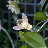 20 Warm White LED Bee Solar Garden Fairy Lights by Lights4fun