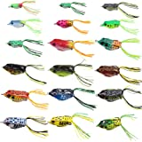 Croch Hollow Body Frog Lure Weedless Topwater...