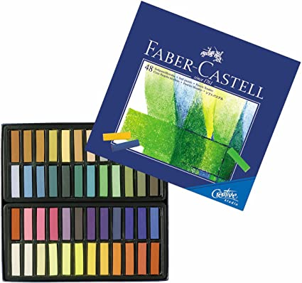 3 x Faber Castell tiza pastel blandas Creative Studion Mini 48 de ...