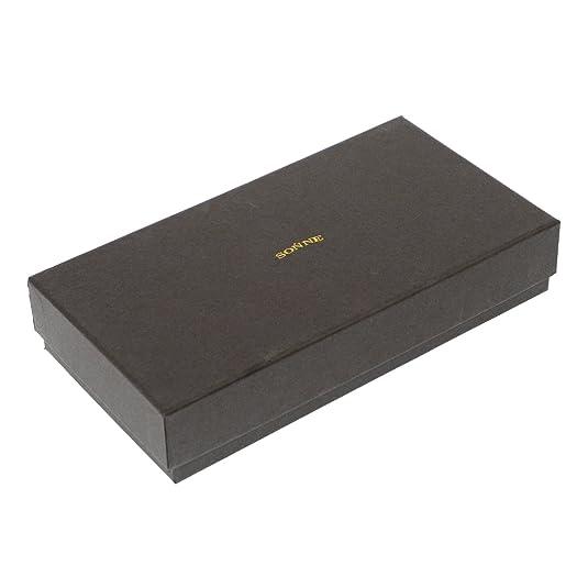 0f305d22a182 Amazon   [ゾンネ] 長札(ファスナー付) SOZ002 ORANGE   Sonne(ゾンネ)   財布