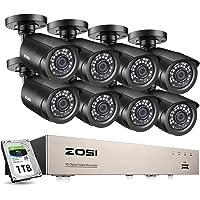 ZOSI Sistema de Seguridad 720P CCTV Kit
