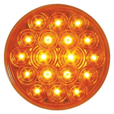 "Grand General 76450 Fleet Amber 4\"" Round 18-LED Park/Turn/Clearance Sealed Light: Automotive [5Bkhe1003012]"