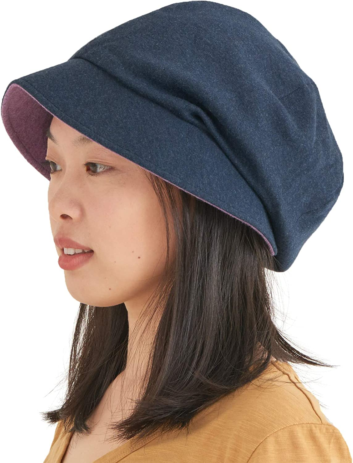 CHARM Casualbox | Womens Sun Hat Organic Cotton Reversible Japanese Design