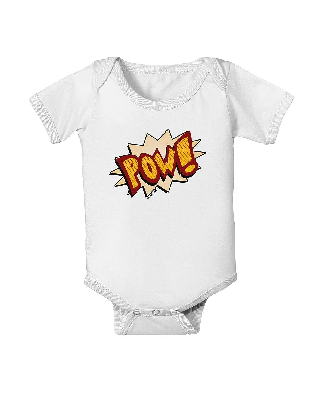 TooLoud Onomatopoeia POW Baby Romper Bodysuit