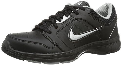 reputable site 12bd4 9070a Nike Lady Steady IX Cross Training Shoes, Black - Schwarz (Black Black