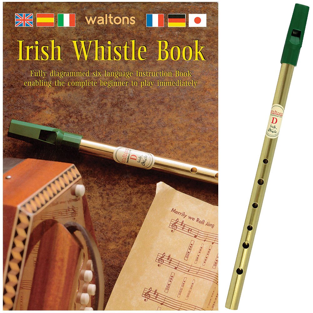 Waltons Irish Tin Whistle Pack Bk & Whistle* [Paperback] By # Waltons Music JAMES TRADING GROUP INC. 4334440918