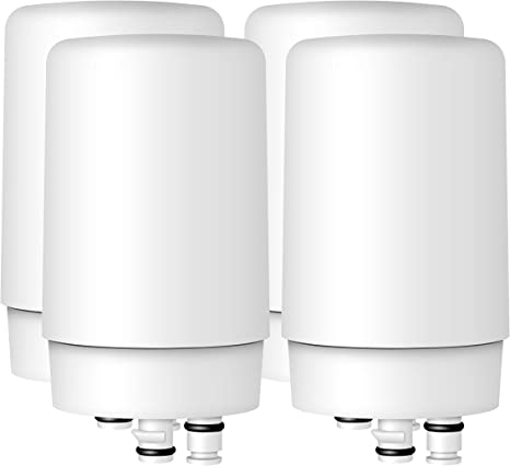Compatible with Brita 36311 On Tap Water Filtration System Replacement Filters Waterdrop Faucet Filter Cartridges Pack of 2
