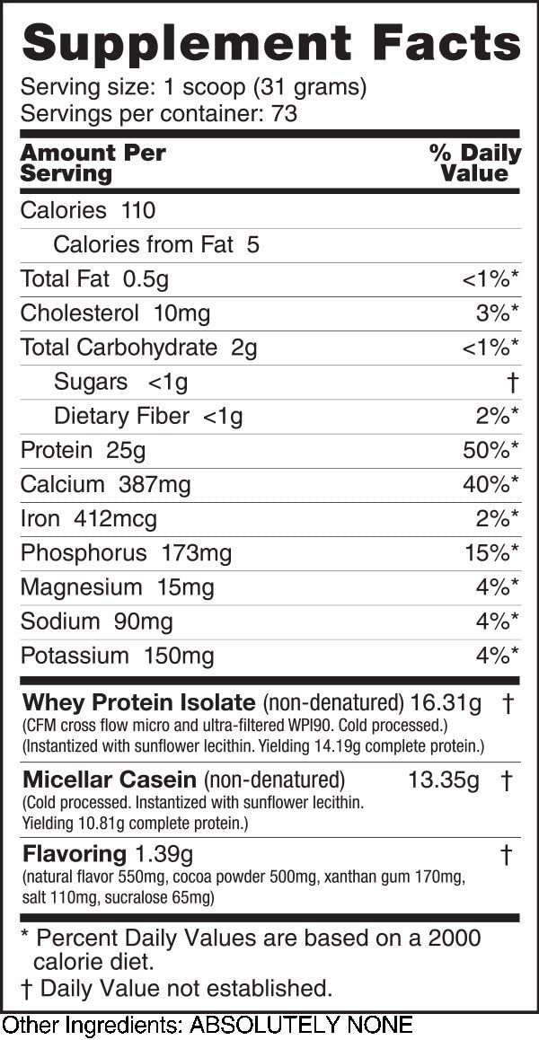 NutraBio Muscle Matrix – Whey Protein Blend Chocolate, 5 Pounds