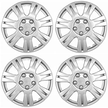 amazon hubcaps 15 inch wheel covers set of 4 hub caps for 55 Dodge Car amazon hubcaps 15 inch wheel covers set of 4 hub caps for 15in wheels rim cover car accessories silver hubcap best for 15inch cars standard steel