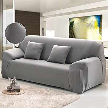 Amazon Com Cherry Juilt Stretch Sofa Cover 1 Piece Spandex Non Slip