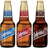Cerveza Bohemia Variety 24 Botellas de 355ml
