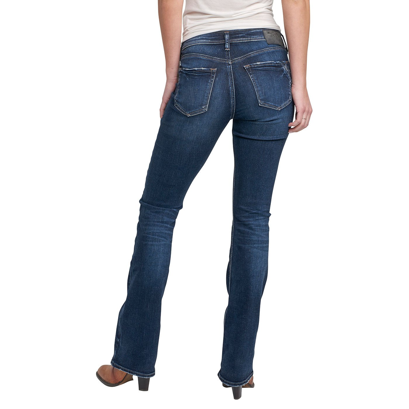 Amazon.com: Silver Jeans Co. - Jeans Avery rectos de tiro ...