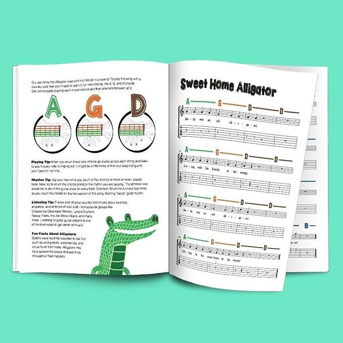 Amazon Guitar Chords Kids Poster 19x27 Easy Guitar Method