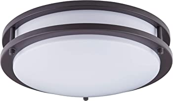 Kingbrite LED Ceiling Flush Mount Round Interior Light