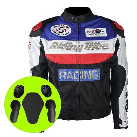 Amazon.com: Riding Tribe - Chaqueta para motocicleta con ...