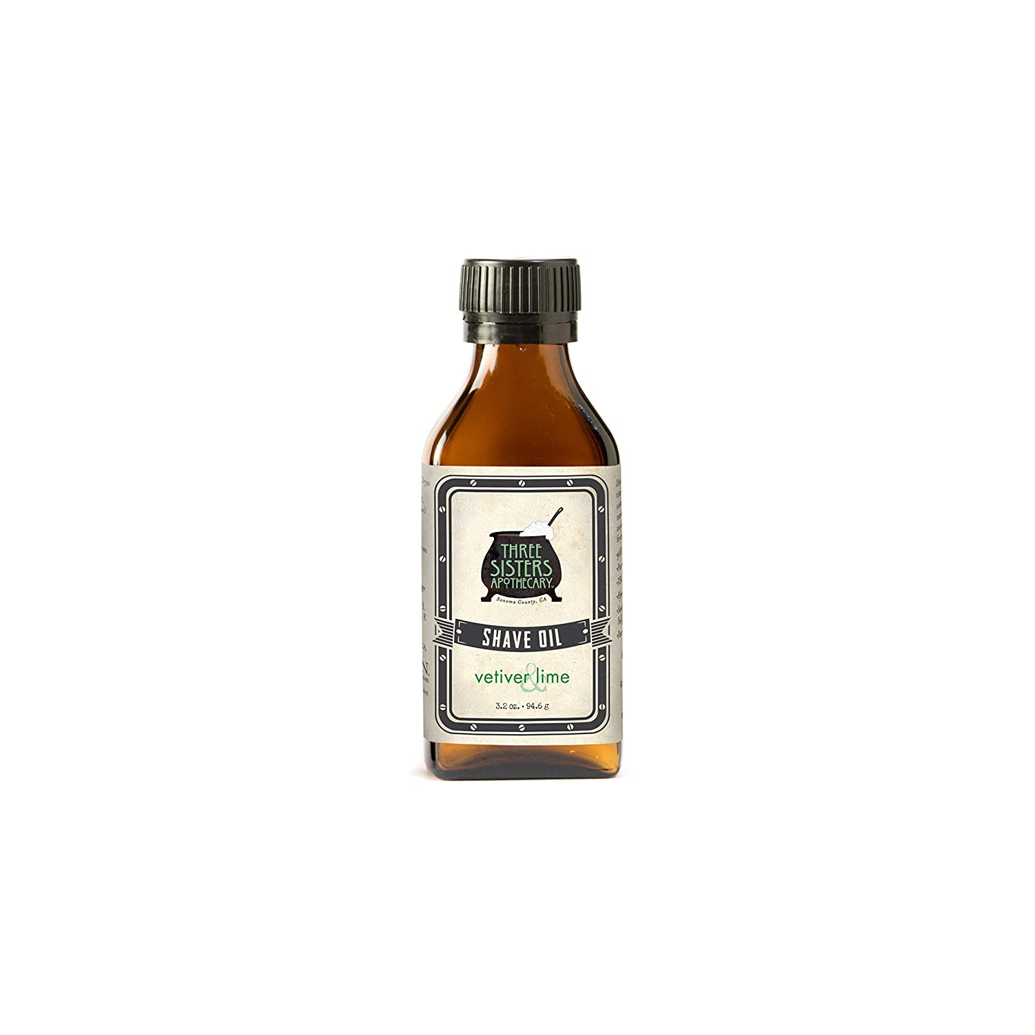 Three Sisters Apothecary Shave Oil Vetiver & Lime