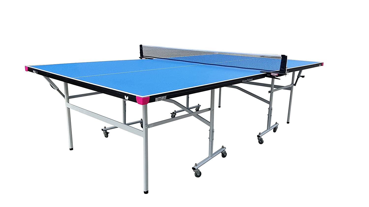 Amazon.com : Butterfly Fitness 16mm Table Tennis Table with Net ...