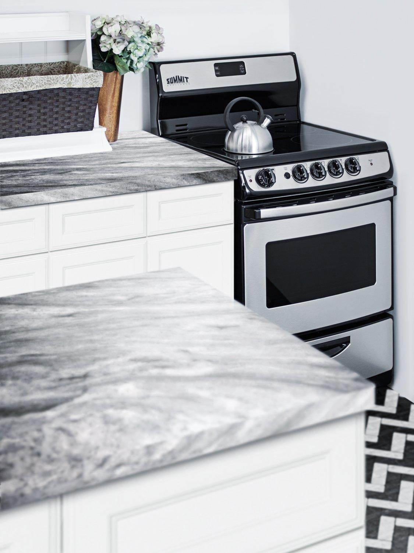 Amazon.com: Summit REX245SS Fba Kitchen Cooking Range, Stainless ...